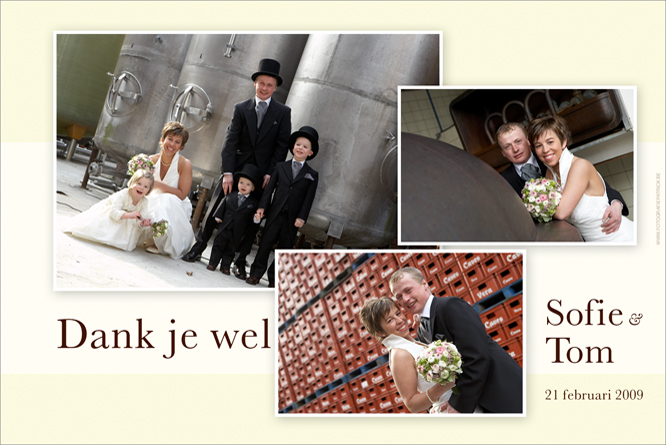 Huwelijksfotografie op brouwerijsite…