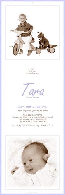 Mag ik u voorstellen aan Tara