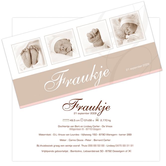 Babyfoto's van Fraukje