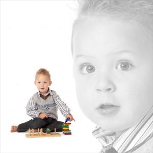 Kreatieve kinderfotografie
