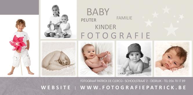 Eindejaarspromotie babyfotografie en kinderfotografie