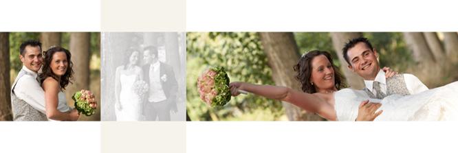 Een blik op de huwelijksreportage van Stephanie en Michaël