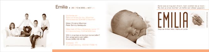 geboortekaartje met foto 102