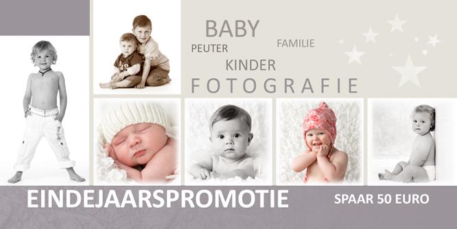 Eindejaarspromotie – baby en kinderfotografie