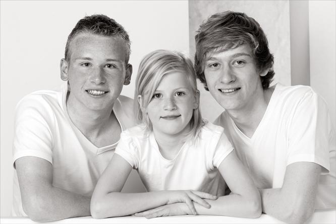 Samen met mijn broers