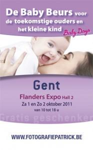 Exposant grootste baby- en kinderbeurs in Vlaanderen