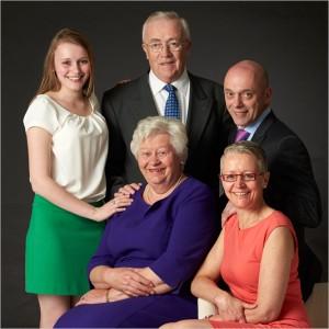 familiefoto van fotograaf Patrick De Clercq
