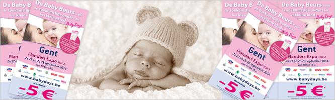 Bestel uw kortingsbon voor de babybeurs online